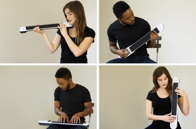 All in One Instrument Departs Kickstarter Dripping in Cash, Record Breaking Success