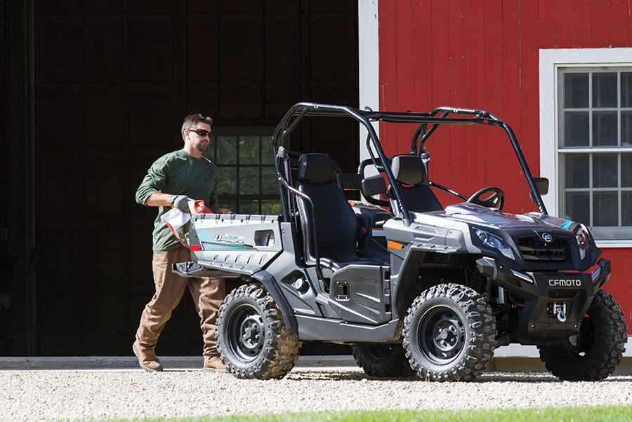New 2016 Cfmoto UForce 800 EPS ATVs For Sale in South Carolina. An 800cc power plant gives you the horse power you need for tough work and the speed to get from job site to job site. Packed with Electronic Power Steering and a 3500 pound winch, tackle work easily with UFORCE.