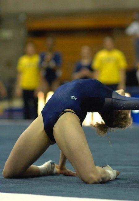 Неожиданные фото гимнасток