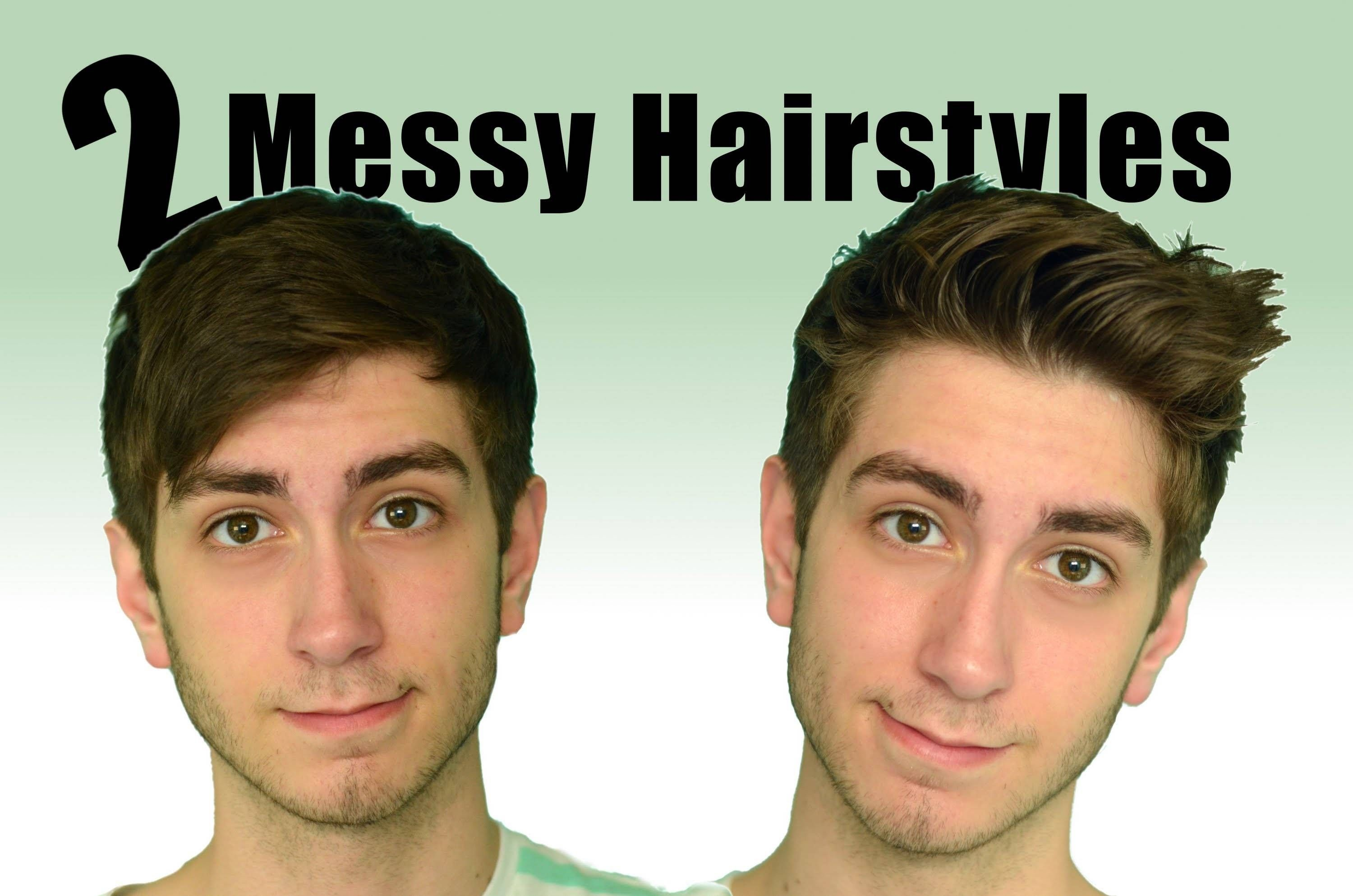 Best How To Style Your Hair With Axe Messy Look