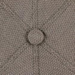 Stetson Brooklin Zigzag Flatcap Schirmmütze Leinencap Baumwollcap StetsonStetson