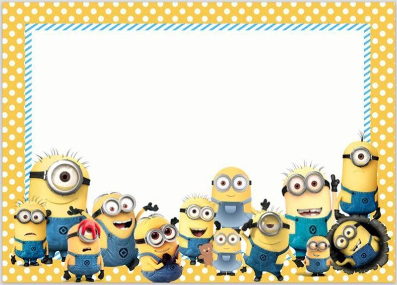 image about Free Printable Minions Birthday Card named Minion Invites The Ideal of 2018 Coolest Invitation