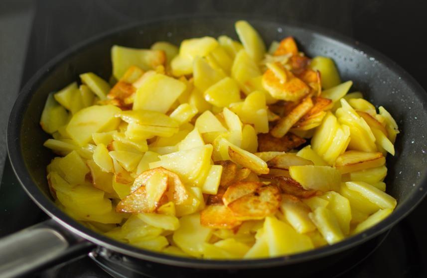 Receta De Patatas A Lo Pobre Receta Recetas Con Patatas Patatas Recetas De Patatas Fritas