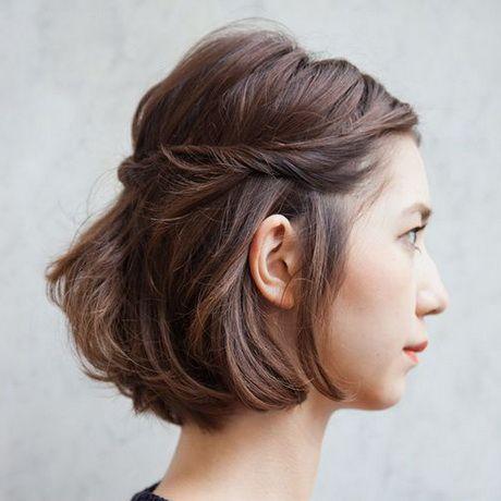 Coiffer un carré court Cheveux en 2019 Coiffure