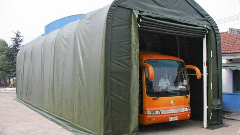 Storage tents Cost reduction by self assembly Kroftman