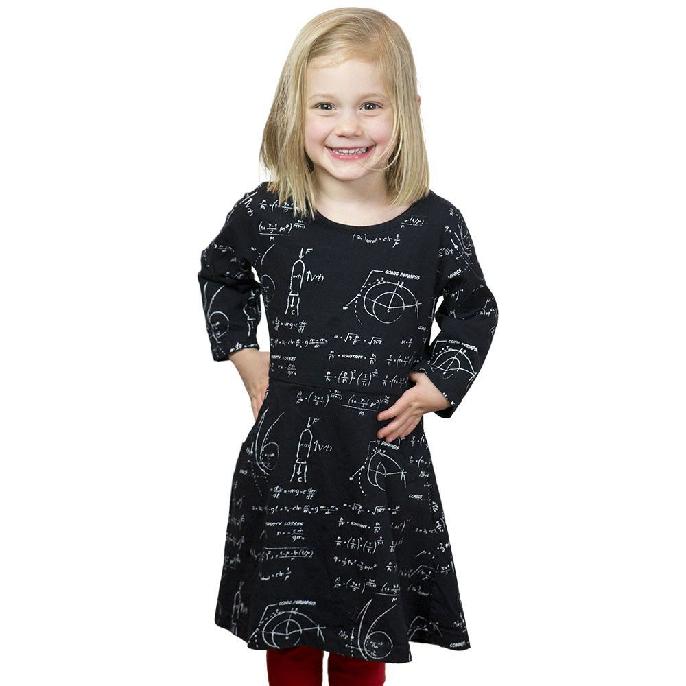 Rocket science kids dress