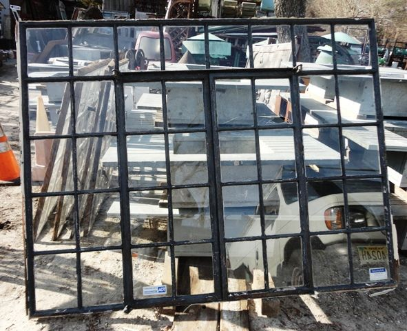 Steel Fixed Windows : Great condition steel casement windows with fixed transom