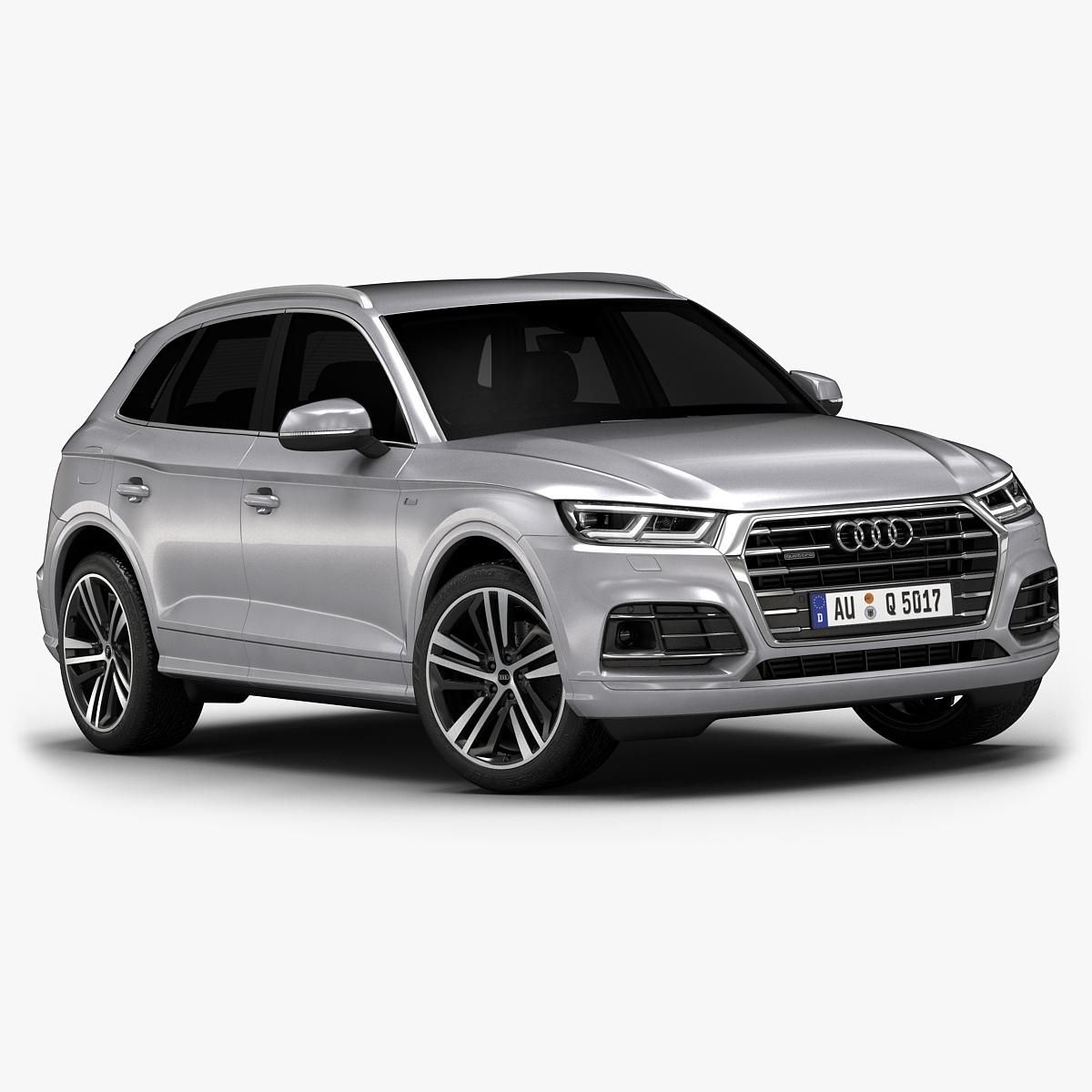2017 Audi Q5 (Low Interior) 3D Model #AD ,#Audi#Model