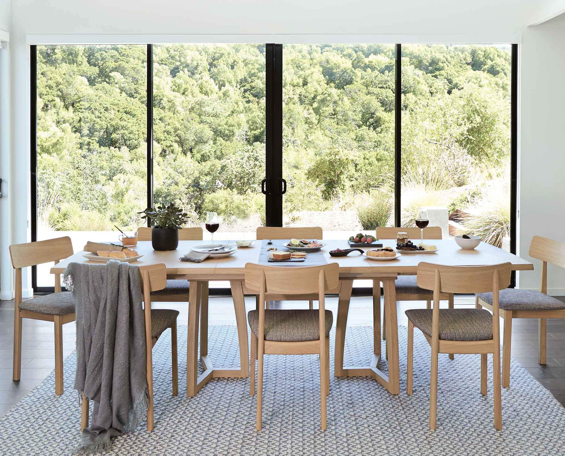 Holbaek Extension Dining Table by Dania Furniture. Crafted ...