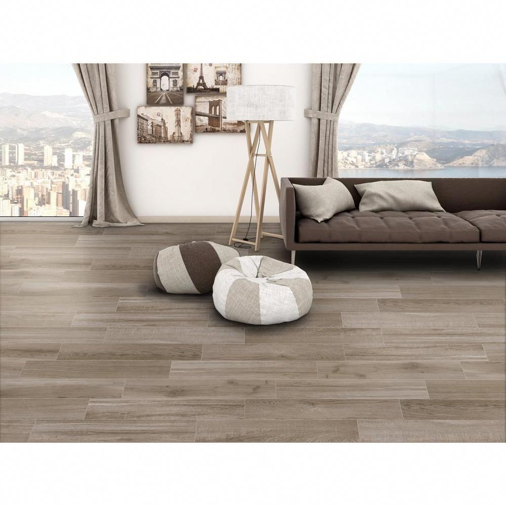 Commercial Carpet That Looks Like Wood: Sierra Beige Wood Plank Porcelain Tile