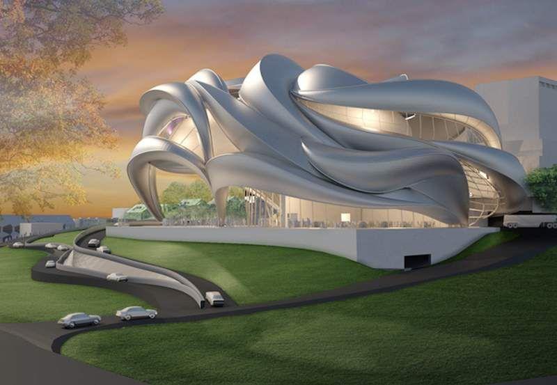 Performance Center Alexanderhoehe Wordlesstech Concept Architecture Unique Architecture Futuristic Architecture