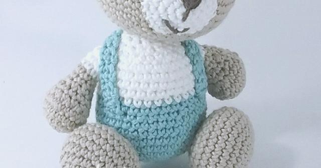 Amigurumi Tutorial Osito : Panda a crochet para llavero panda crochet amigurumi keychain
