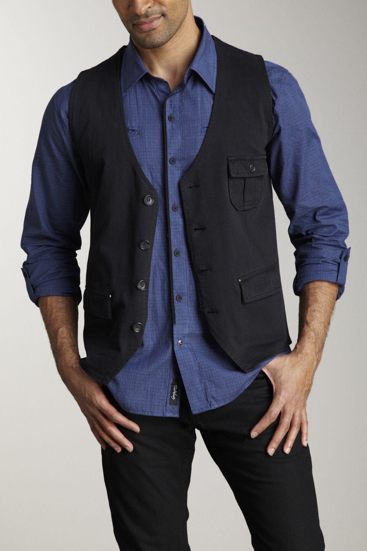 Civil Society Mumford Vest Plus size mens clothing