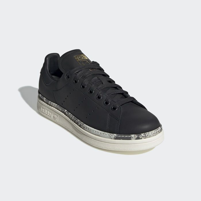 Stan Smith New Bold Shoes Core Black Womens | Stan smith