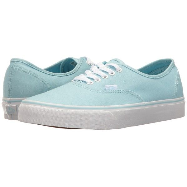 Vans Authentic (Crystal BlueTrue White) Skate Shoes ($50