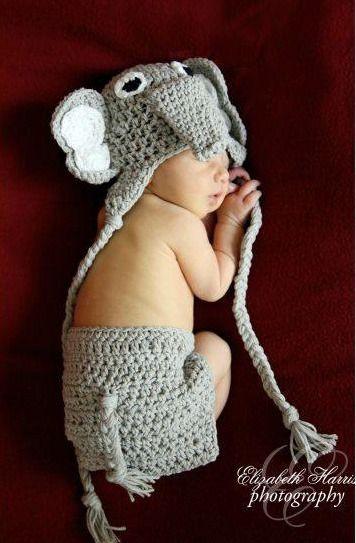Newborn Baby Girl Boy Crochet Knit Spartacus Costume Photo Photography Prop