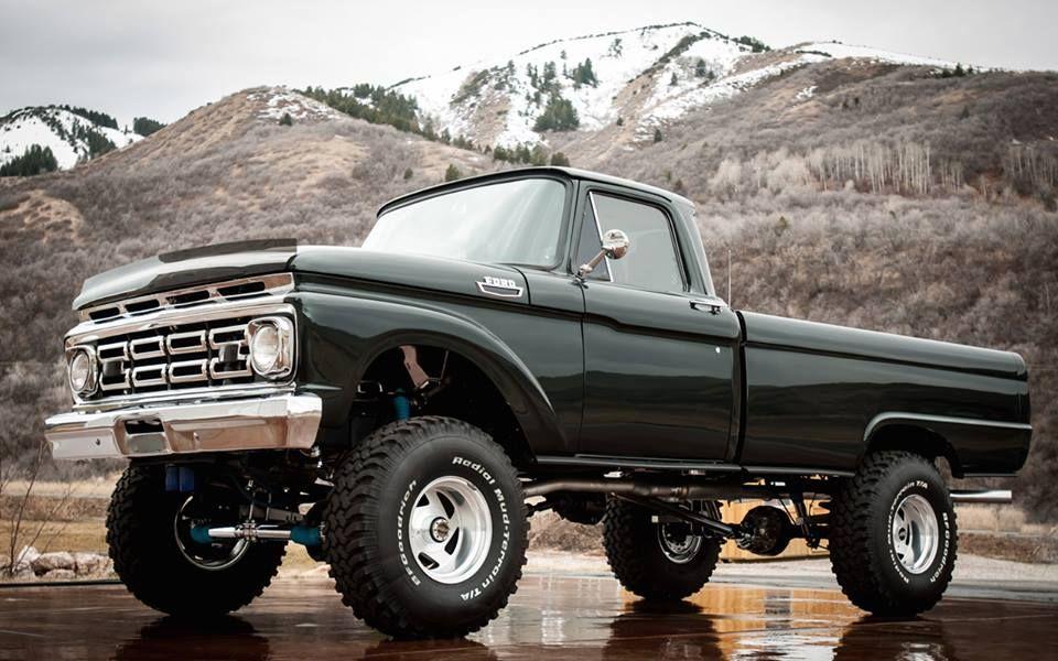 1963 Ford F 100 4wd Original Highboy Classic Trucks Ford