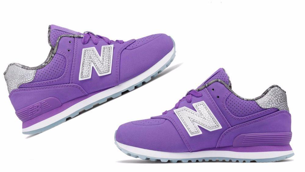 new balance purple kids