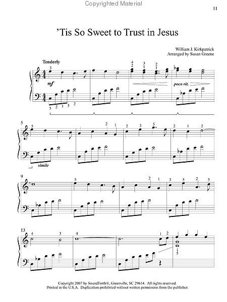 This Little Light Of Mine Early Intermediate Hymn Solos