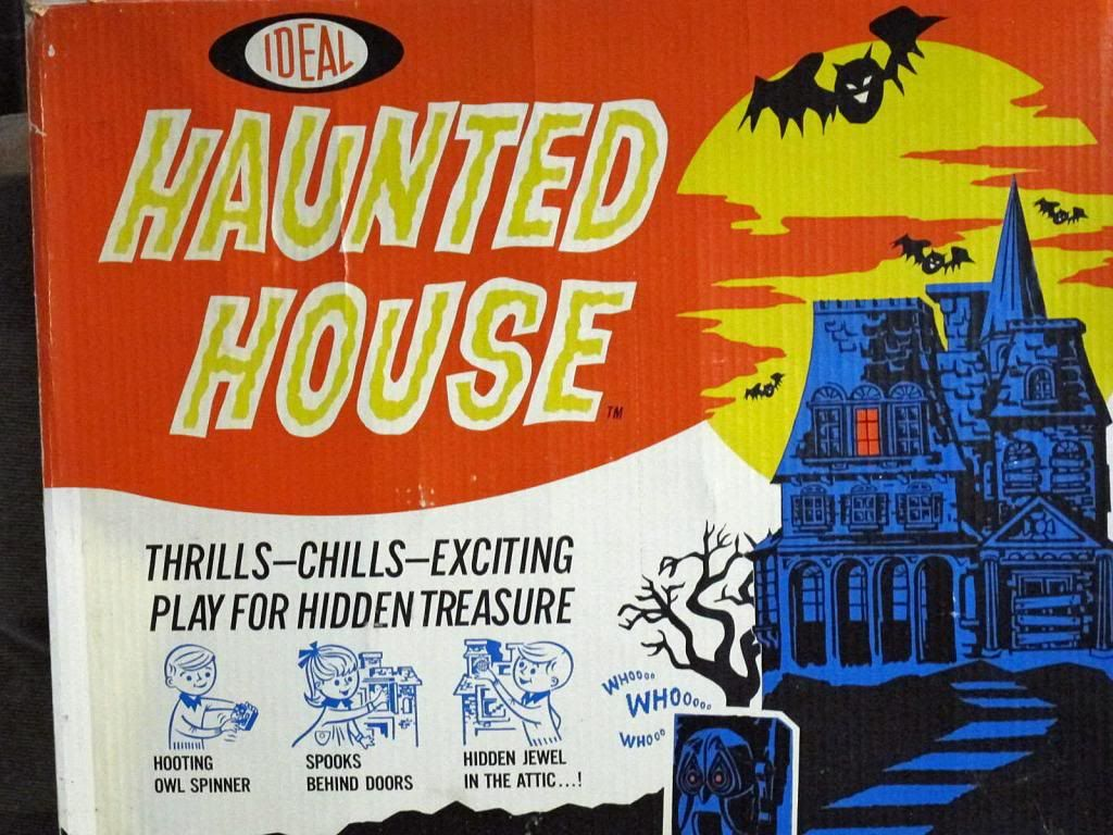 Ideal Haunted House Game Vintage board games, Haunted