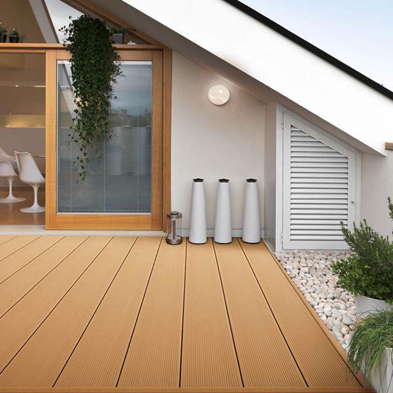 Suelo antideslizante para exterior con superficie de ranura anticaída www.coowinmall.com #deck #decking #tiles #outdoordecking #floor #decoration #outdoorflooring #deckplanking #compositedecking