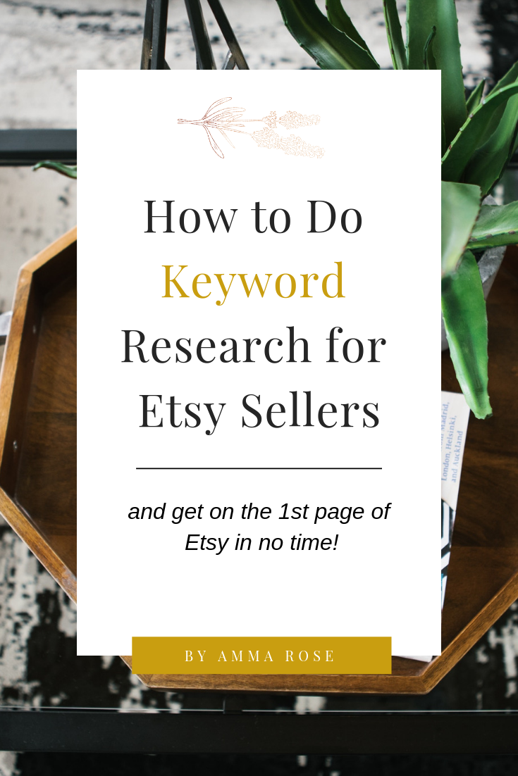Find The Best Keywords For Your Etsy Shop Using Free Etsy Seo