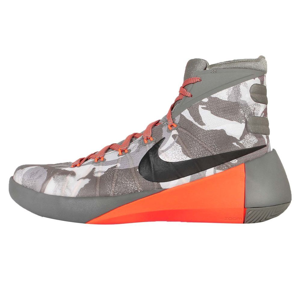separation shoes 3a672 0f88f Nike Hyperdunk 2015 PRM EP Grey Orange Camo Mens Basketball Shoes  749570-001 in Clothing, Shoes   Accessories, Men s Shoes, Athletic   eBay