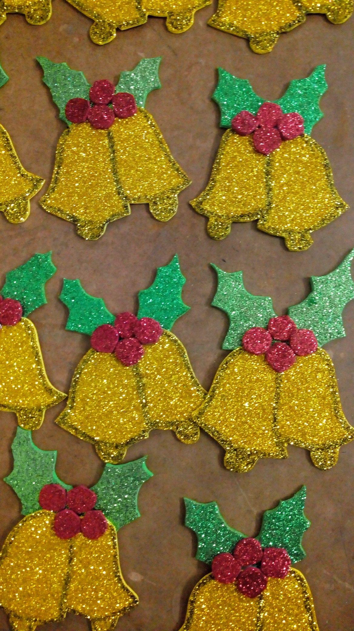 Glitter Foam Sheets Christmas Decorations My Projects Pinterest