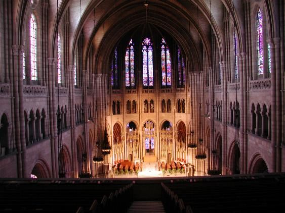 new york city s riverside church is an iconic example of gothic