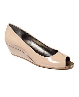 Alfani Women S Shoes Cammi Step N Flex Wedges Pumps Shoes