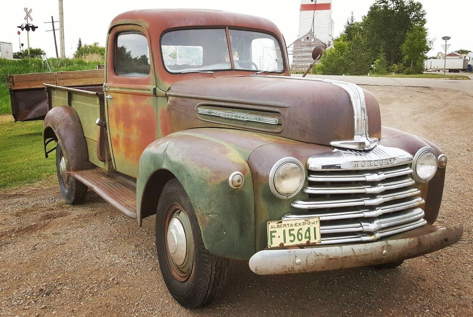 Patina Deluxe 1947 Mercury One Ton Pickup Classic Trucks