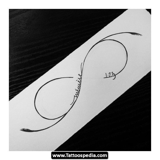 Infinity Tattoo Meaning Tattoos Infinity Symbol Tattoos With