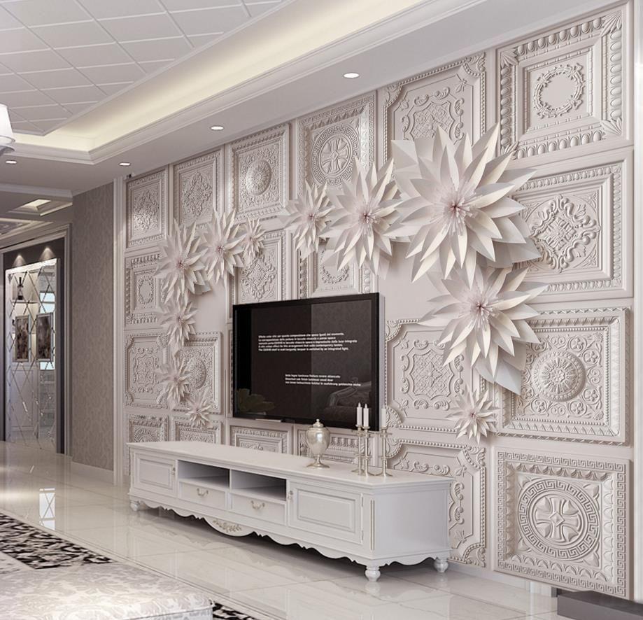 Image result for tipos de papel tapiz para paredes | Tv cabinets ...