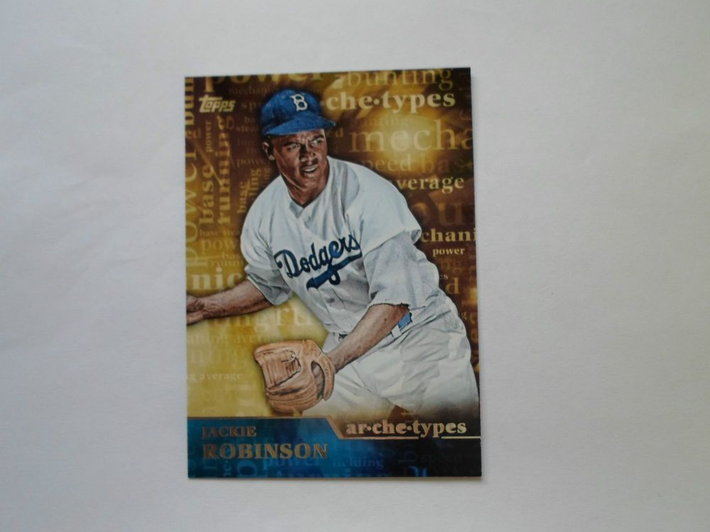 2015 topps base ser 1 arche types jackie robinson a 21