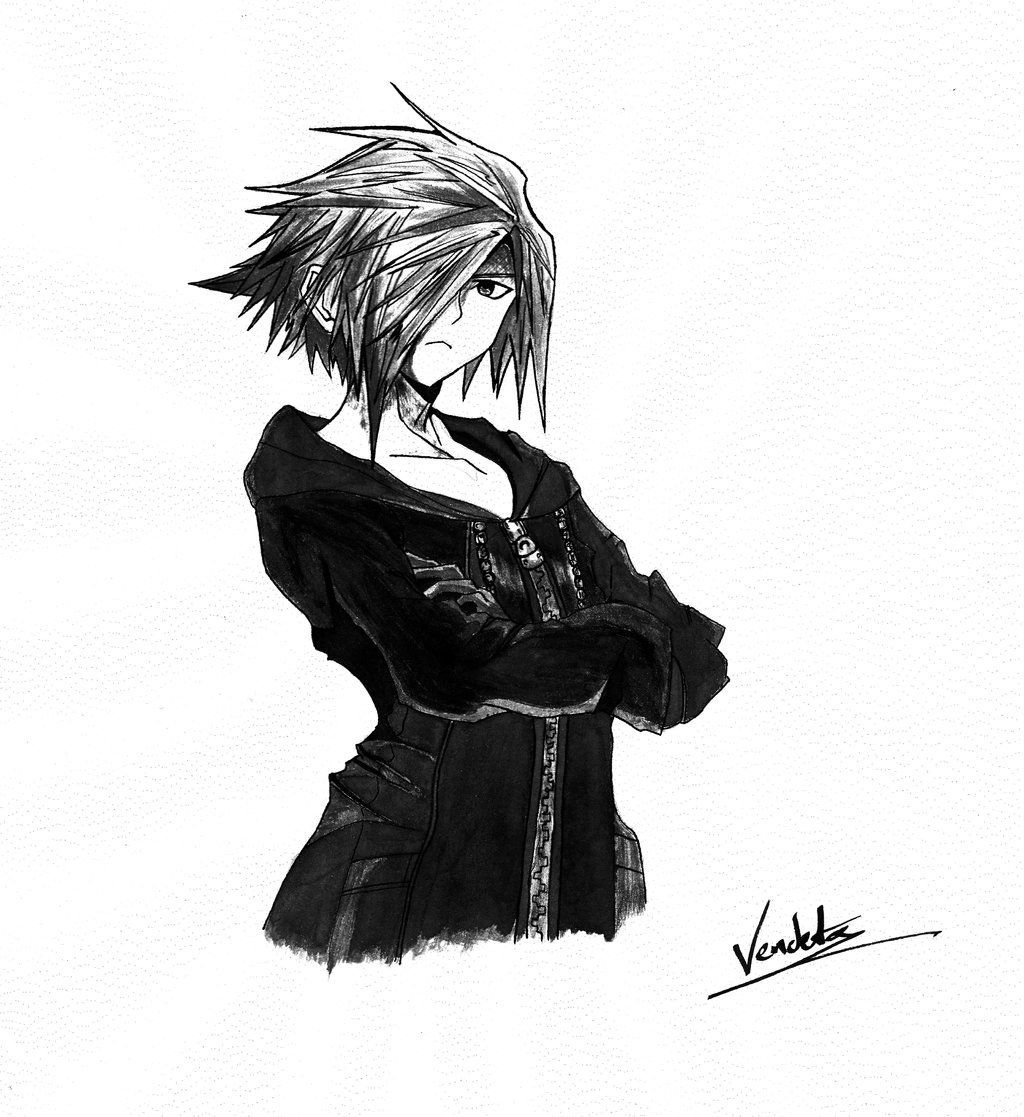 Zexion - Kingdom Hearts by Vendeta1991.deviantart.com on @deviantART