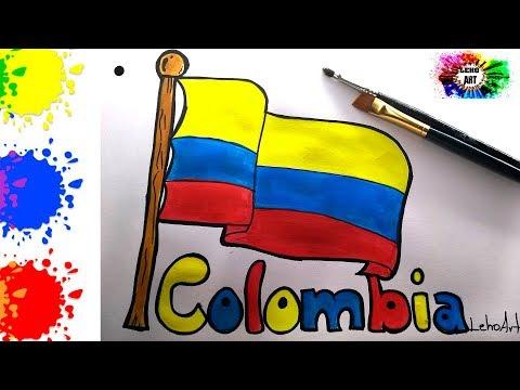 Pin De Leho Sanchez En Dibujos Lehoart Bandera De Colombia Bandera Dibujos Faciles