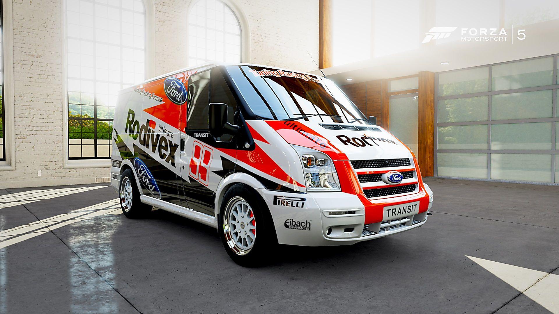 Forza motorsport 5 ford transit supersportvan par tfr