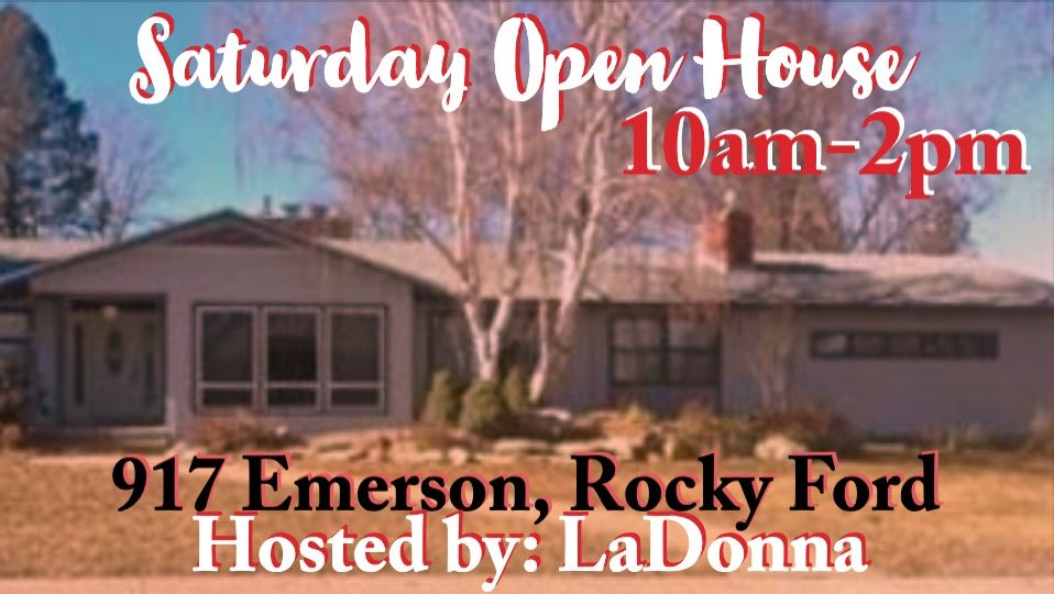 Rocky Ford Open House Tomorrow Stop By 917emerson Normmurphy Com