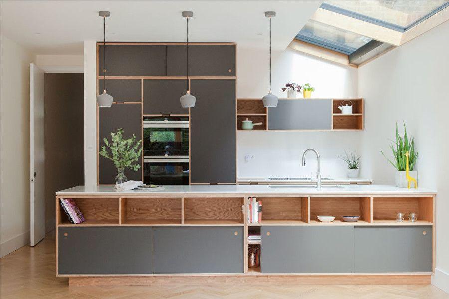 beauvalroad18  kitchen layout plywood kitchen home