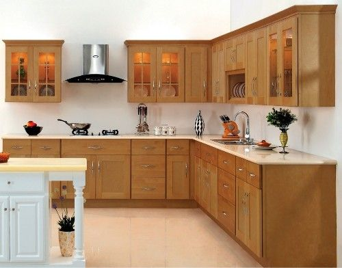 Lemari Dapur Minimalis Tampak Bersih Dan Rapi Dengan Kitchen Cabinet