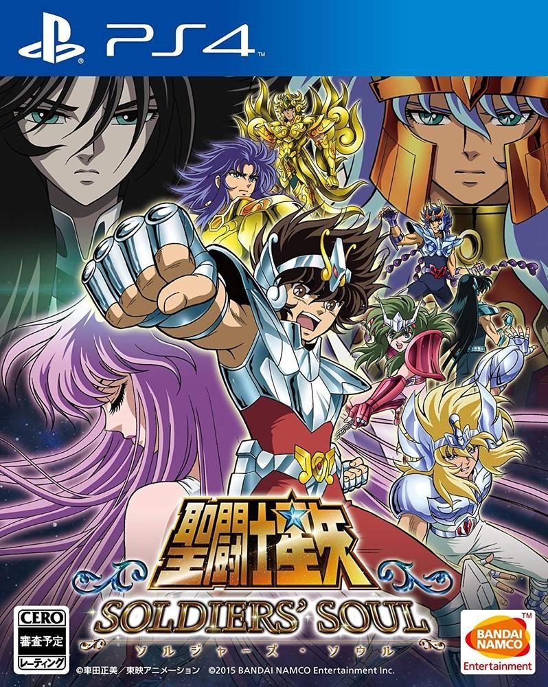 PlayStation 4 Saint Seiya Soldiers Soul Japanese Ver. Used