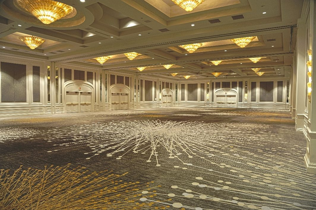 We Love The Fun Pattern Of The Carpet In Our Restyled Four Seasons Ballroom Four Seasons