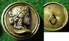 Bouton Ancien Profil de FEMME  .  20 mm