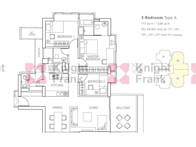 D11 Newton Suites 36 Floors Page 23 Suites Kitchen Dining Living Floor Plans