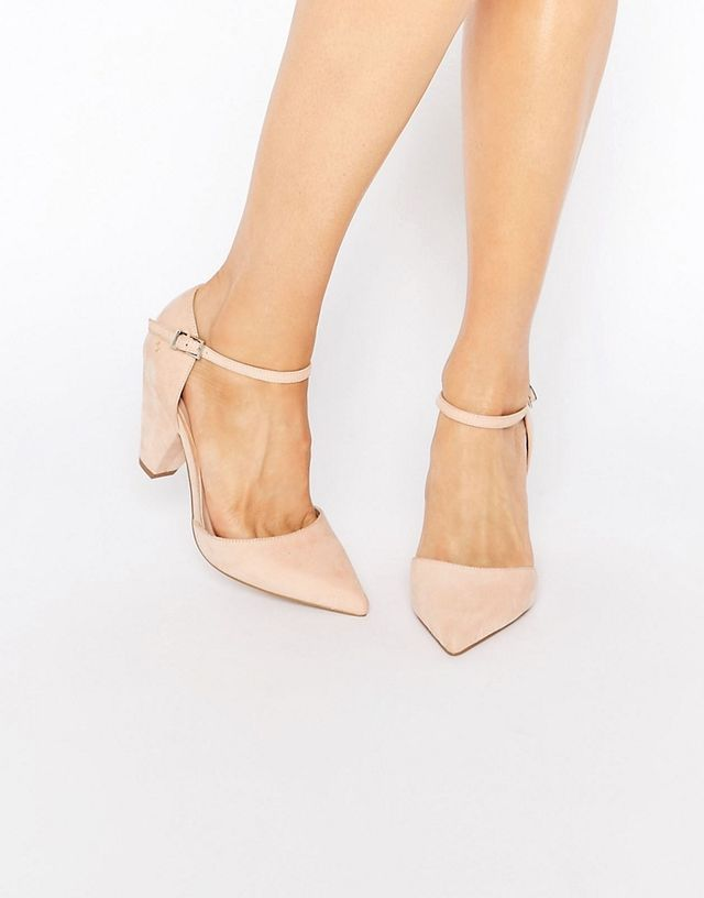 SPEAKER Pointed Heels - Nude metallic Asos Free Shipping Official Site Buy Cheap Low Price Fee Shipping Sale Visit gGpXSe331
