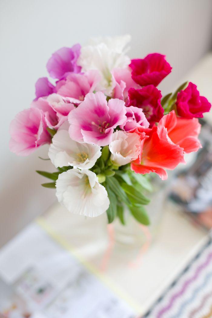 3 Decorating Ideas With Flowers Godetia Decor8 Pretty Flowers Flowers Beautiful Flowers