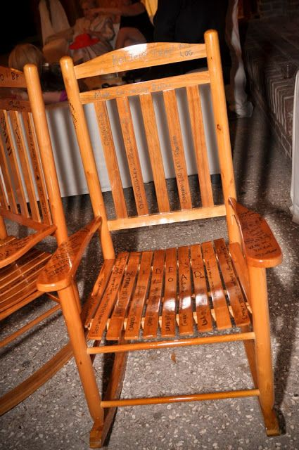 ...  Guest Books  Pinterest  Rocking chairs, Chairs and Guest books