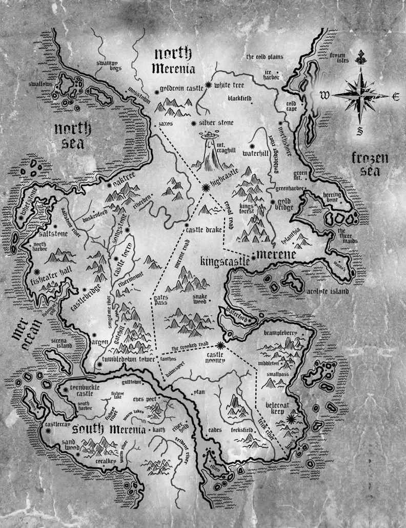 Creating a map for your fantasy novel jademphillips for writers creating a map for your fantasy novel gumiabroncs Images