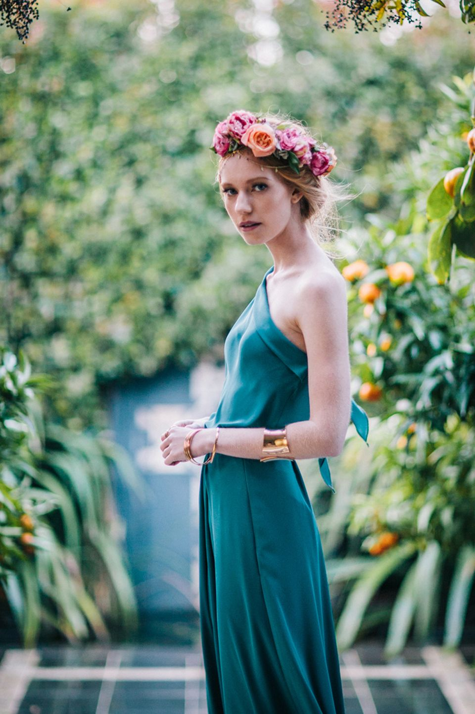 Victor teal asymmetric top and draped skirt bridesmaid dress unique quality bohemian bridesmaid dresses you will wear again made in auckland new zealand ombrellifo Gallery