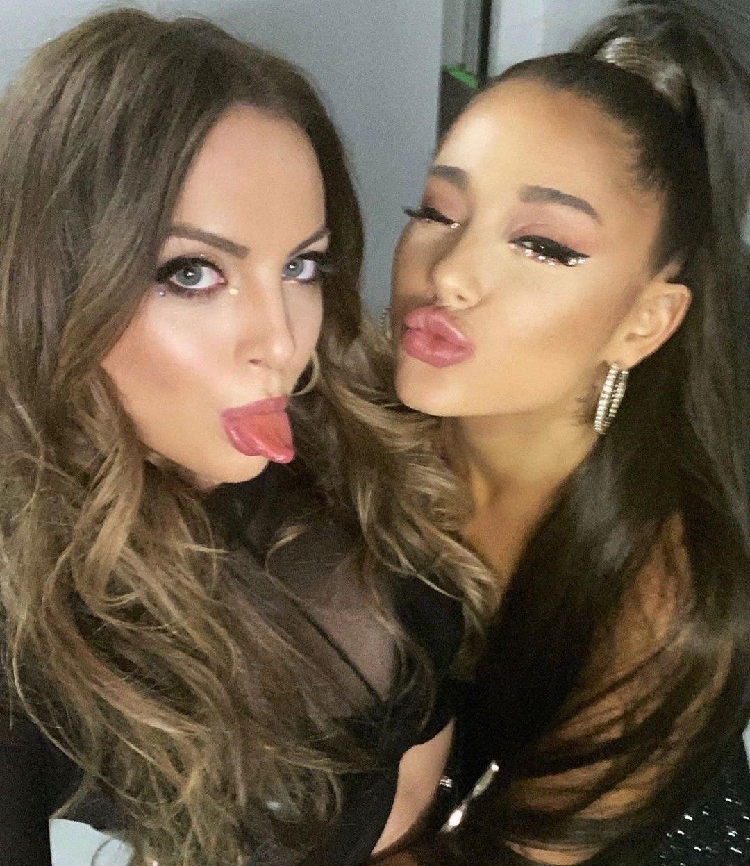 Elizabeth Gillies And Ariana Grande Ariana Instagram Liz